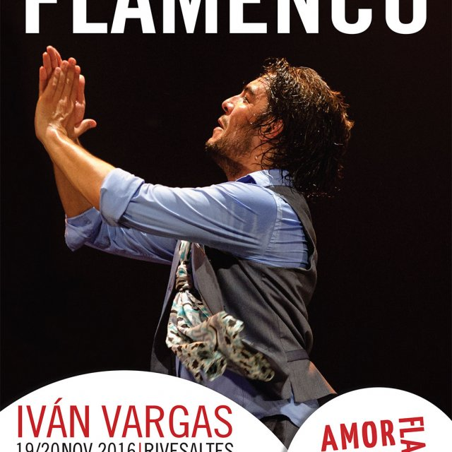 FLAMENCO l Stages + Spectacle avec Iván Vargas l 19/20 nov. 16 l Rivesaltes