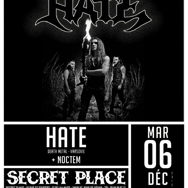 Hate ~ Noctem à la Secret Place
