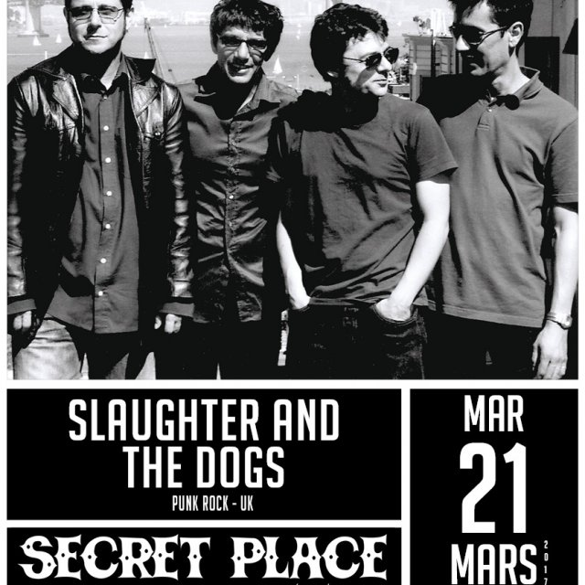 Slaughter and the dogs à la Secret Place